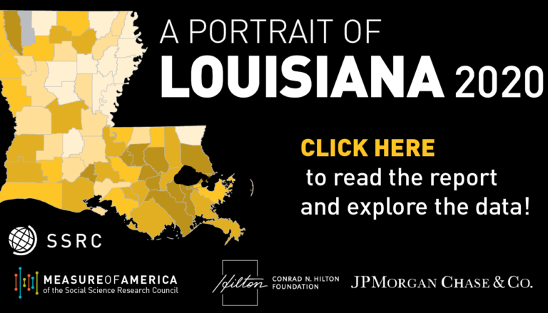 NEW REPORT: A Portrait of Louisiana 2020
