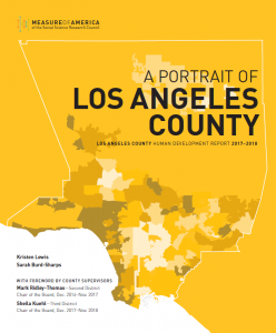 a portrait of los angeles county measure of america a program of